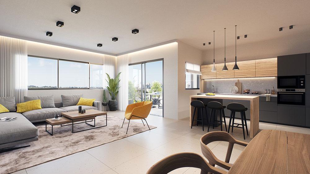 מתחם ה 1000 אלקטרה מגורים ראשון לציון -דירות פנים